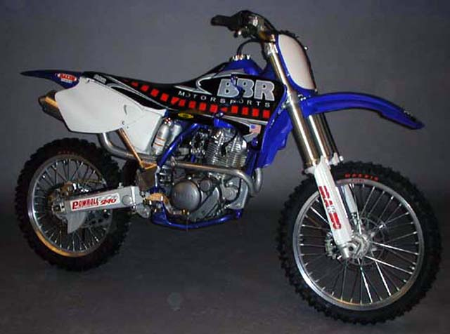 TTR225 Motor Stuffed in a YZ125 chassis