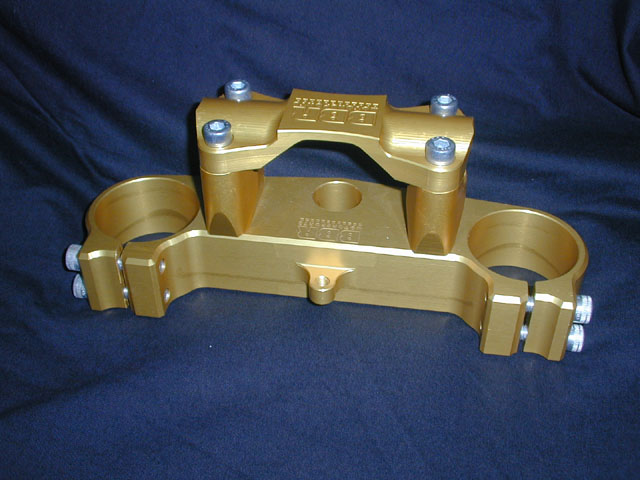 YZ250F Triple clamps